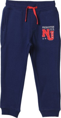Beebay Solid Boy's Blue Track Pants