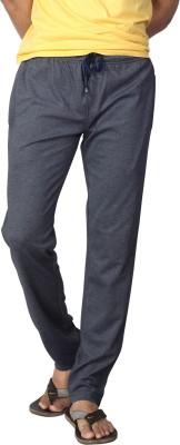 AVOQ-Style Reboot Solid Men's Dark Blue Track Pants