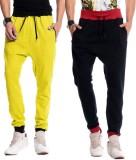 Brohood Bro Solid Men's Yellow, Black Tr...