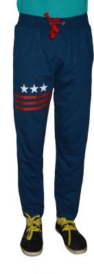 Gen Solid Men's Blue Track Pants