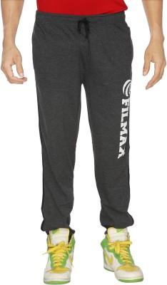 Filmax Solid Men's Grey Track Pants