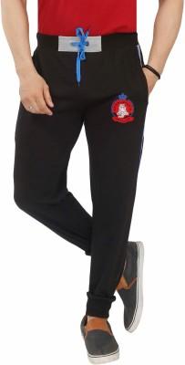 Jazzup Printed Men's Brown Track Pants