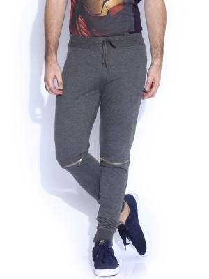 Kook N Keech Solid Men's Grey Track Pants at flipkart
