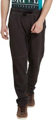 Elaborado Solid Men's Brown Track Pants