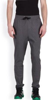 Hypernation Solid Men's Grey Track Pants