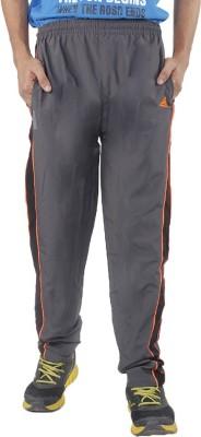 Hannspree Solid Men's Grey Track Pants