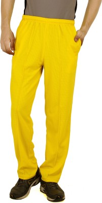 T10Sports Cricket Solid Men's Yellow Track Pants