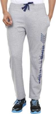 Ruse Solid Men's Grey Track Pants