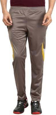 Gumber Solid Men's Brown Track Pants