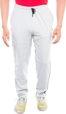 Ckl Self Design Men's Grey Track Pants