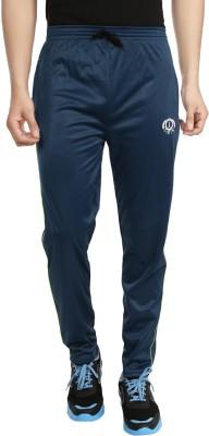 Forever19 Plain Solid Men's Blue Track Pants