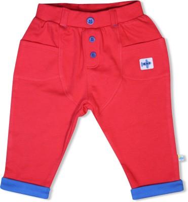 FS Mini Klub Printed Baby Boy,s Red Track Pants