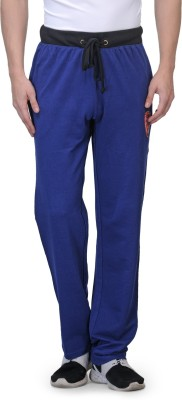 Flippd Graphic Print Men's Blue Track Pants