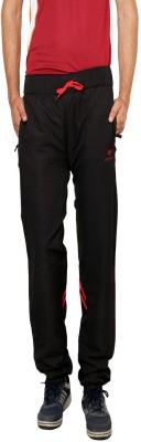Gypsum Self Design Men,s Black Track Pants