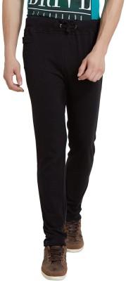 Elaborado Solid Men's Black Track Pants