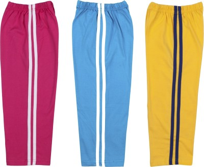 Hunny Bunny Solid Baby Boy's Pink, Blue, Yellow Track Pants