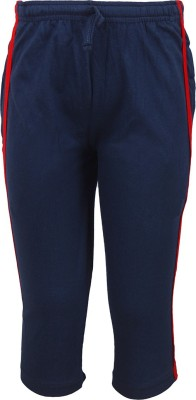 Jazzup Jogger Track Pants Solid Boy's Dark Blue Track Pants