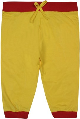 Jazzup Jogger Track Pants Solid Girl's Yellow, Red Track Pants