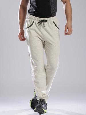 HRX by Hrithik Roshan Solid Men's White Track Pants