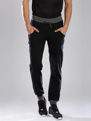 HRX by Hrithik Roshan Solid Men's Black Track Pants