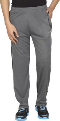 Orizzonti Solid Men's Grey, Black Track Pants