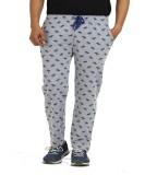 TT Printed Men's Grey Track Pants