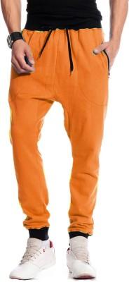 Brohood Bro Solid Men,s Orange Track Pants