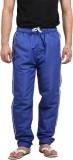 VDG Applique Men's Blue Track Pants