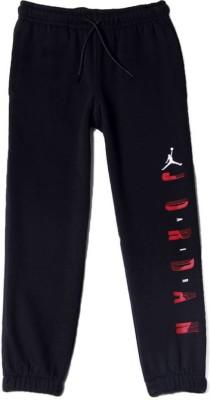Jordan Kids Solid Boy's Black Track Pants