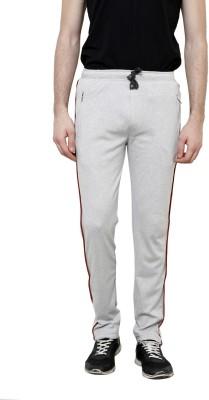 Riverstone Solid Men's Grey Track Pants