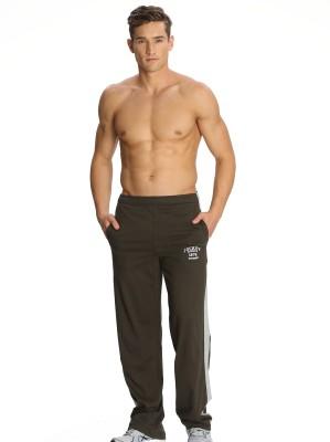 Jockey Solid Men's Green Track Pants