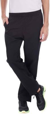 Zobello Solid Men's Black Track Pants