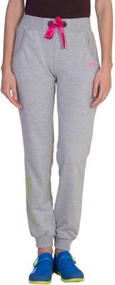 Hog Solid Women's Grey Track Pants