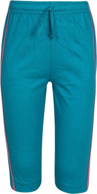 Jazzup Jogger Track Pants Solid Girl's Green Track Pants