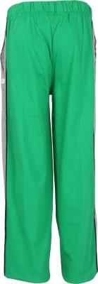 Triki 102-Green Striped Boy's Green Track Pants