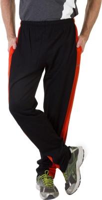 Masch Sports Solid Men's Black, Orange Track Pants