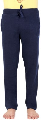 Bongio Solid Men's Blue Track Pants