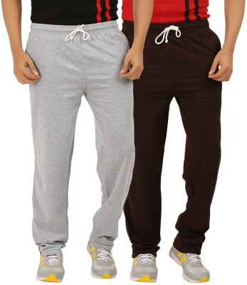 ESSDEE Solid Men's Grey, Brown Track Pants