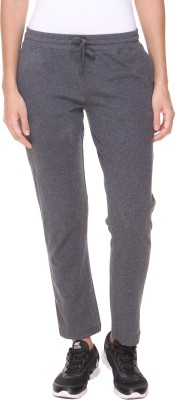Alibi By Inmark Solid Women,s Grey Track Pants