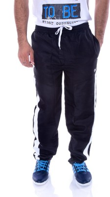 Choice4U Solid Men's Black Track Pants