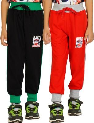 Shaun Solid Men's Red, Black Track Pants