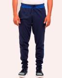 Vego Self Design Men's Blue Track Pants