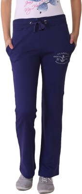 Wake Up Competition Solid Women's Purple Track Pants at flipkart