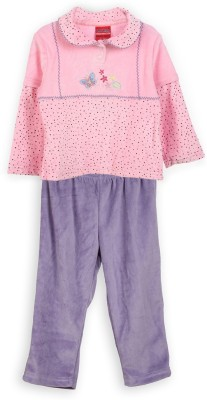 Lilliput Embroidered Baby Girl,s Track Suit