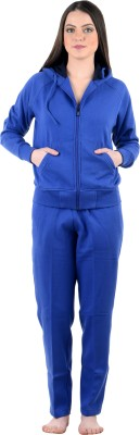 Nxt 2 Skn Solid Women's Track Suit