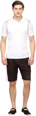 Campus Sutra Solid Men's Track Suit