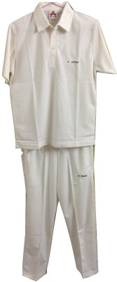 Athlet Cricekt dress Solid Men's Track Suit