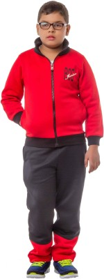 Bobjunior Solid Boy's Track Suit