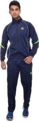 Rvr Self Design Men's Track Suit