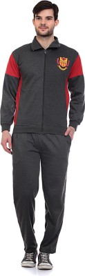 Blue-Tuff Solid Men's Track Suit